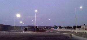 Alumbrado Solar en Estacionamiento fabrica