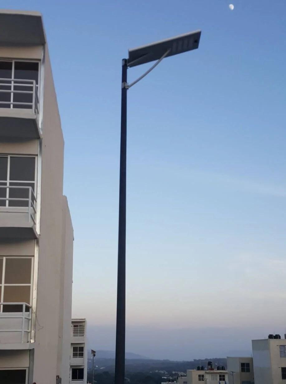 Lmpara Solar LED All in One  Led Solar