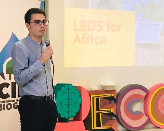 LEDS for Africa ad EcoFuturo 2019