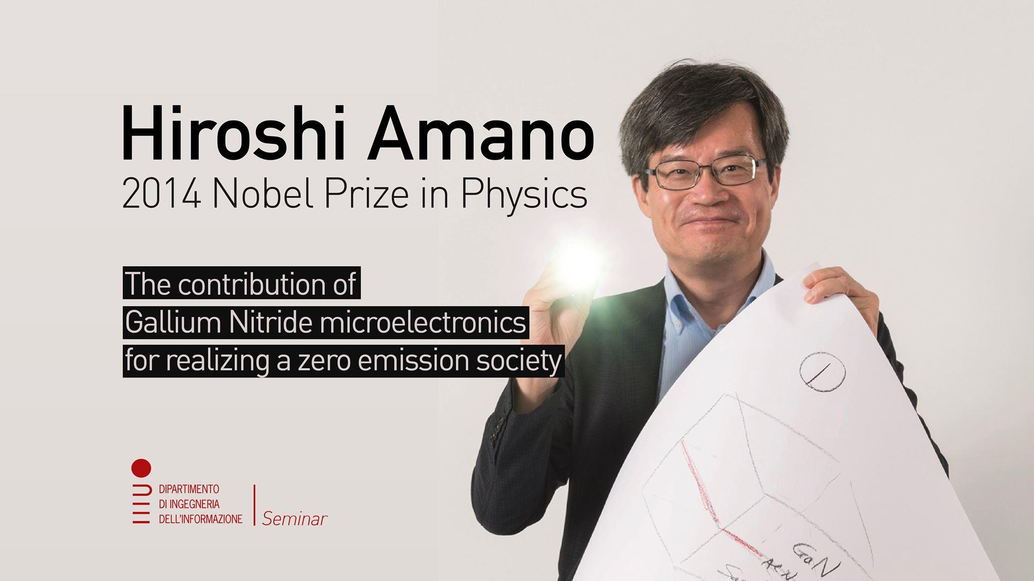 Hiroshi Amano Padova 2019
