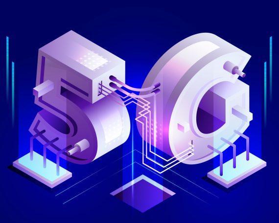 Freepik 5G Isometric Concept