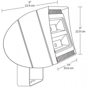 120-277V 5000K 150W LED Floodlight to Replace 400W Metal