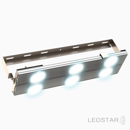 Projetor LED High Pole aceso