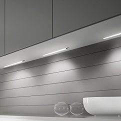 Under Kitchen Cabinet Lighting Options Aid Microwaves Lux Light Sensor Led Touch ...