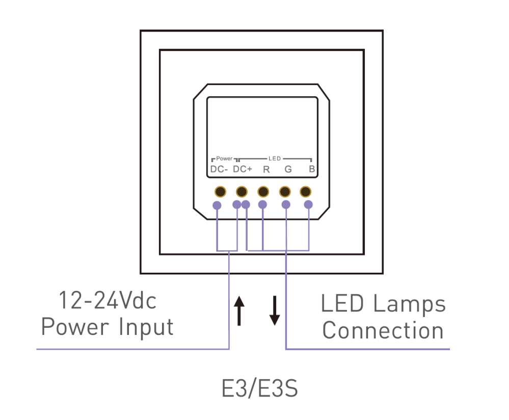 medium resolution of  connection ltech e3 wiring diagram