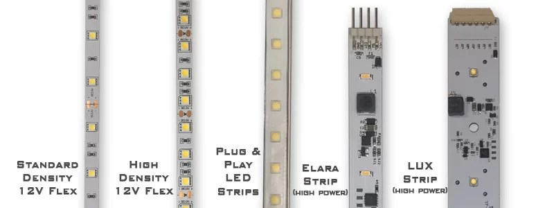 wiring diagram for wall lights 6w white light double cob led switch night 4 way trailer ultimate guide on buying strip ledsupply blog types of strips