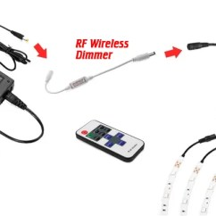 24v Trailer Socket Wiring Diagram For Alternator Warning Light 12 Volt Led Strips Powering And Ledsupply Blog Strip Splitters These Y Connectors Make It So You Can Plug In One Power Source Connect Multiple Runs Off With A Simple