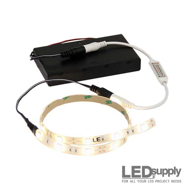 BatteryOperated LED Light Strip