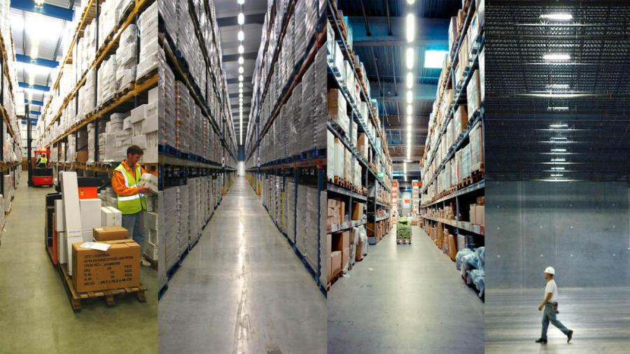 iluminacion led para galpones o naves industriales