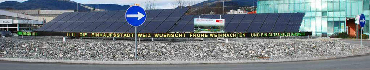 Kreisverkehr Weiz