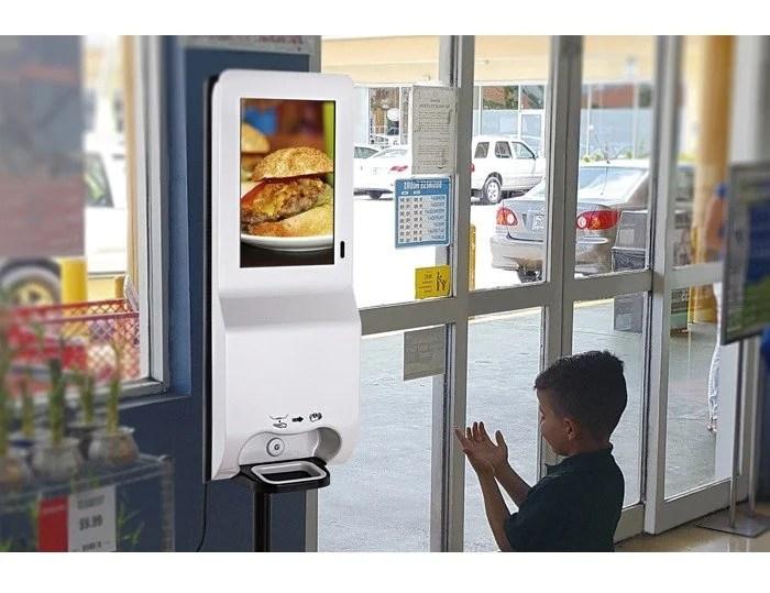 Hand_Sanitizer_LCD_Kiosk