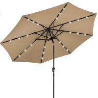 Best solar patio umbrellas and umbrella lights | LEDwatcher