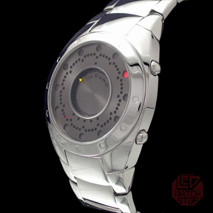 led watch solsuno charcoal