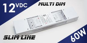 12V MD-012-060VT Multi Dim LED Driver