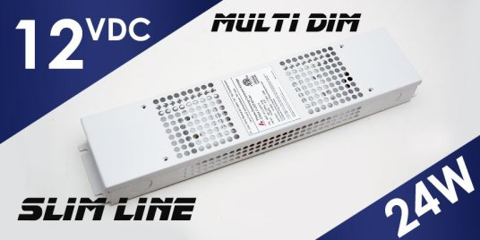 12V MD-012-024VT Multi Dim LED Driver