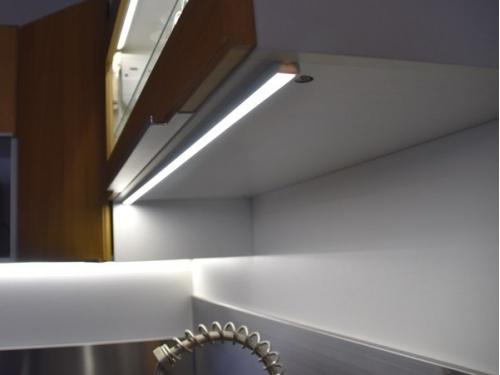 reglette led plate profile aluminium