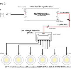 Pot Light Wiring Diagram 2007 Silverado Dimmable Led Puck Recessed/surface Mounted - World Lighting