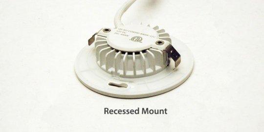 Recessed Mount option