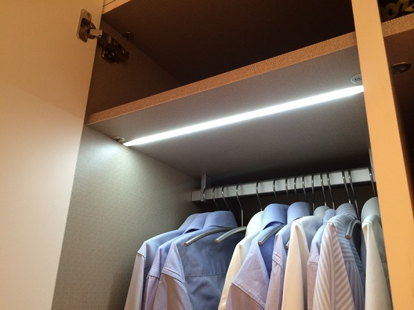 Ideas de iluminacin led para armarios