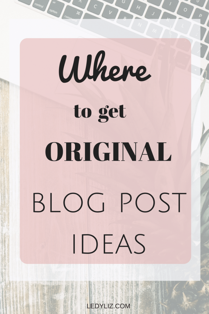 Pin now and read later. Are you tired of wracking your brain for blog post ideas. In the posts I give you details on how I find inspiration for my blog post ideas with out turning to Pinterest.