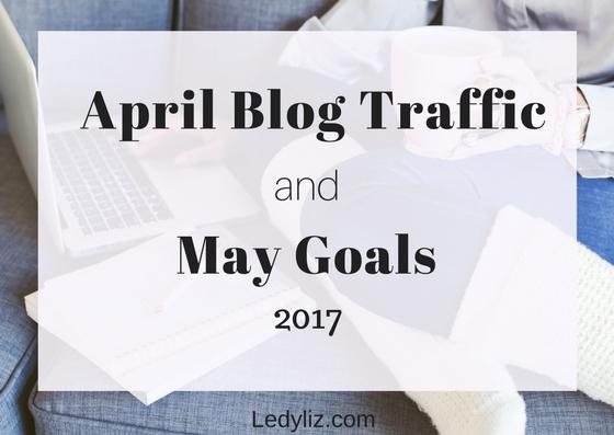 April blog traffic and May goals