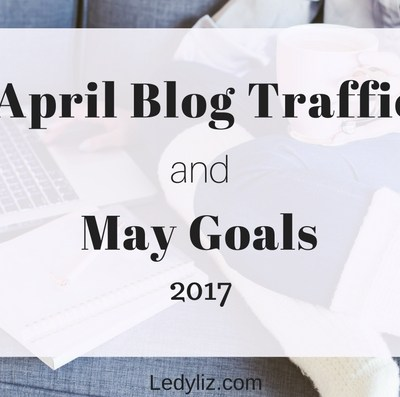 Get inspired! April blog traffic and May goals