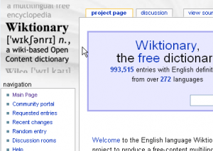 """Lee.org » Blog Archive » How to Pronounce """"Wiktionary"""""""