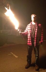 Michael Kearney Fire Sword