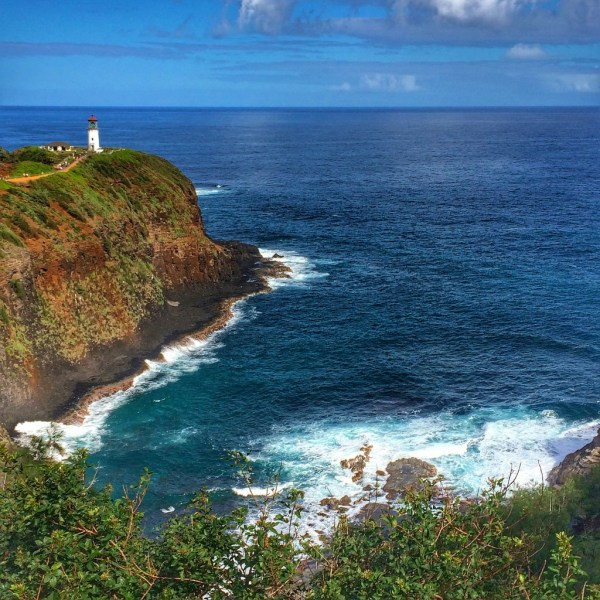 Lighthouse Kauai Hawaii