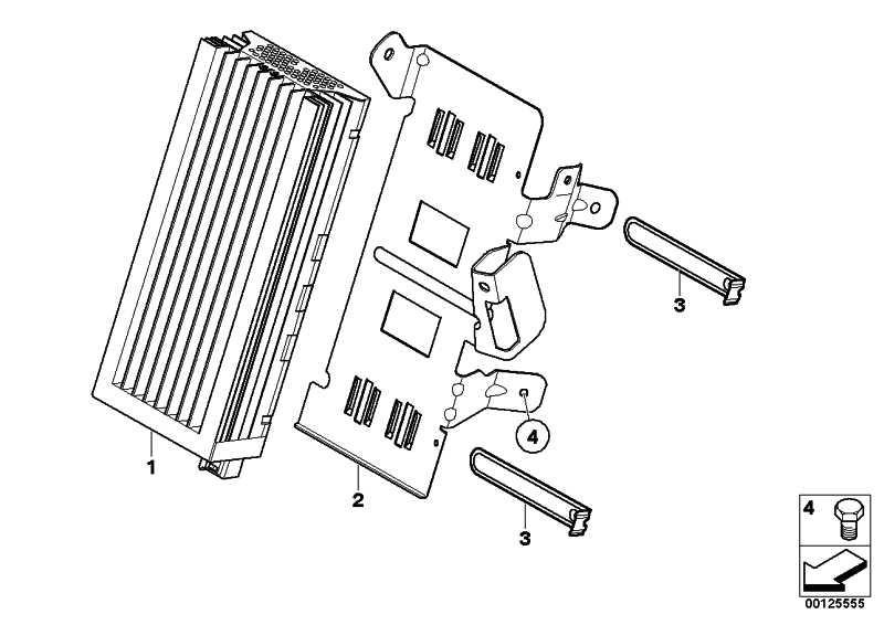 Verstärker Individual Audiosystem 3er 5er 6er (65127851364