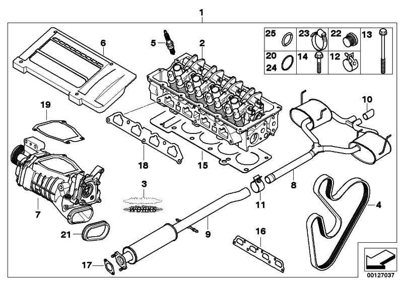 Zylinderkopf mit Ventiltrieb J. COOPER WORKS MINI