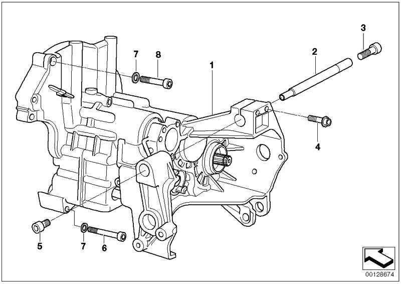 6 Gang Getriebe/Hochverzahnung 6. lang SCHWARZ R21 R22 R28