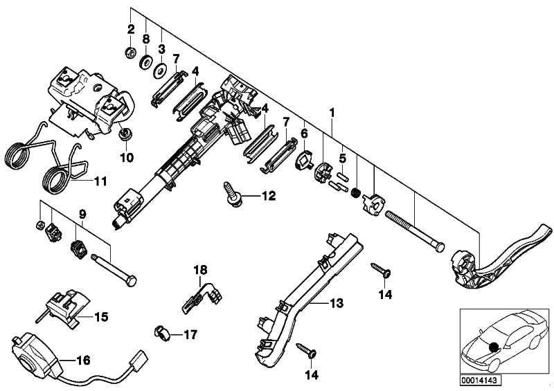 Halter Lenkwinkelsensor 3er X3 Z4 (32301094904
