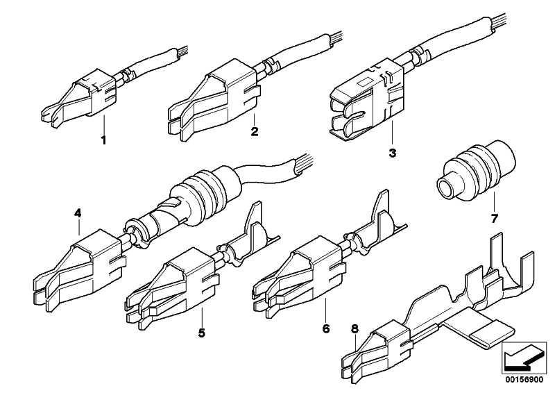 Doppelflachfederkontakt mit Abgriff 0,5-1,0MM² (SN) 1er