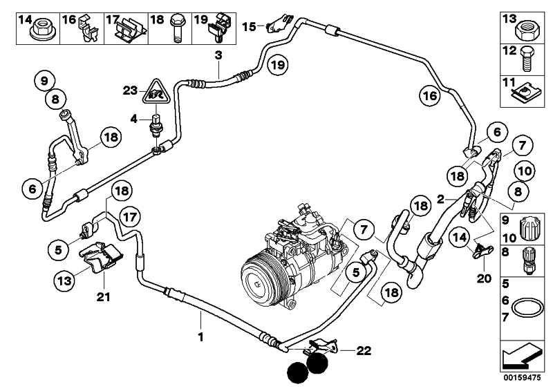 Druckleitung Kondensator-Verdampfer 1er 3er X1