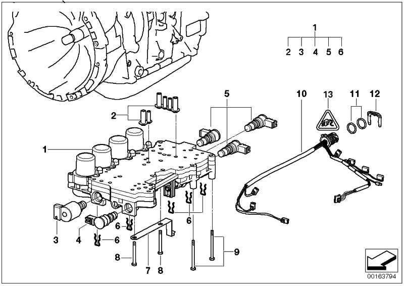 Druckregler Wandlerkupplung 3er 5er X3 X5 Z3 (24327532013