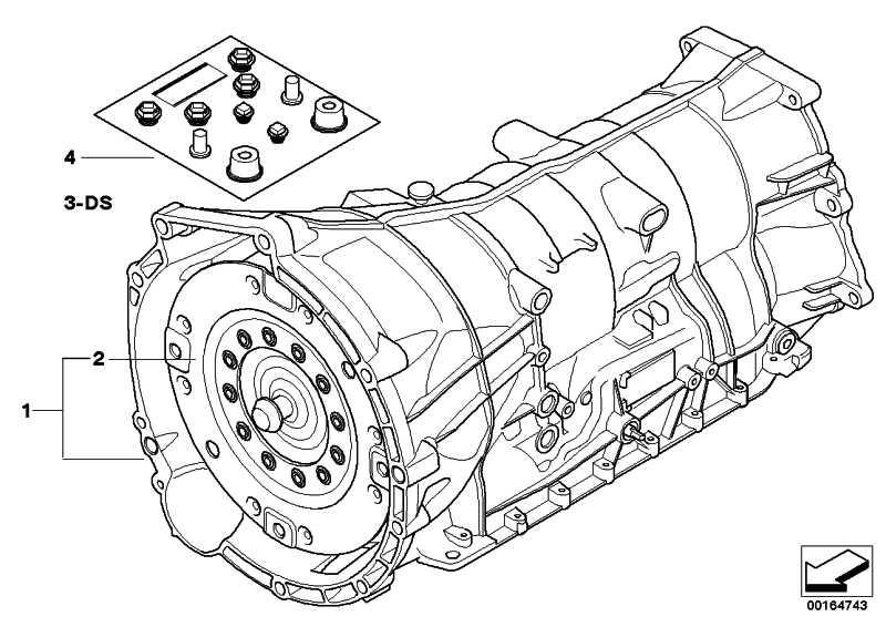 Austausch Automatikgetriebe EH GA6HP19Z X3 (24007590158