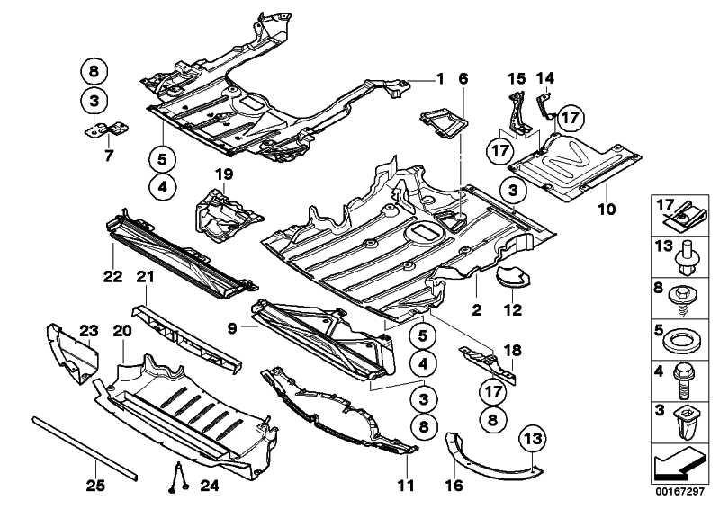 Motorraumabschirmung Unterfahrschutz 3er (51757059387