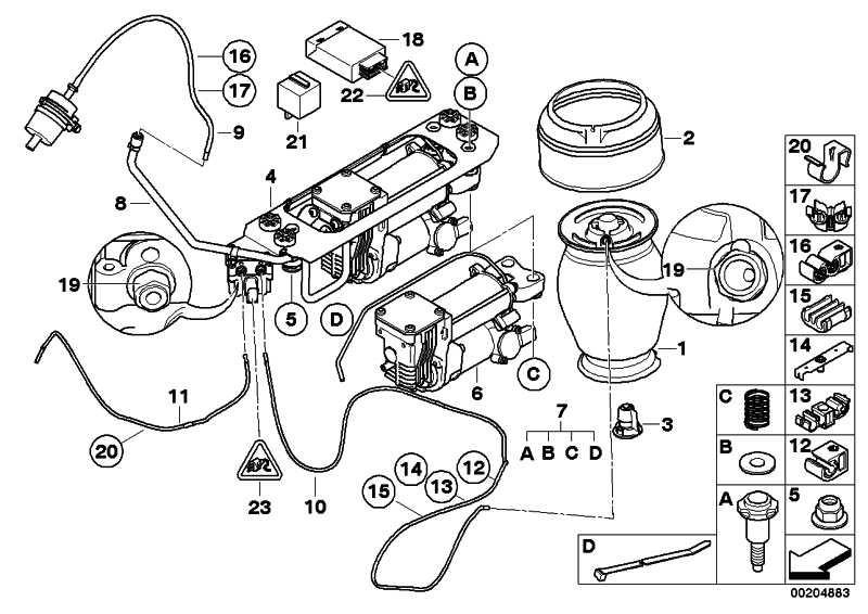 Kompressor Luftversorgungsanlage 5er (37106793778