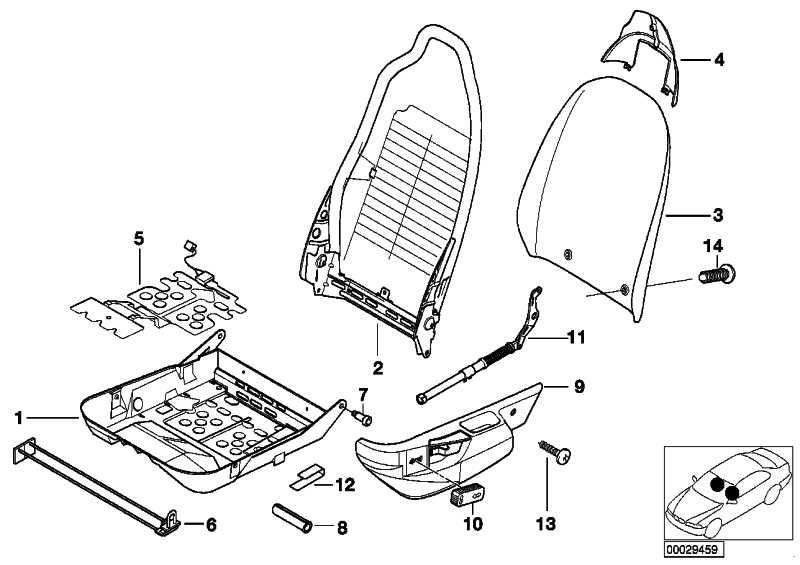 Sensormatte Beifahrersitzerkennung Z3 (52108410538