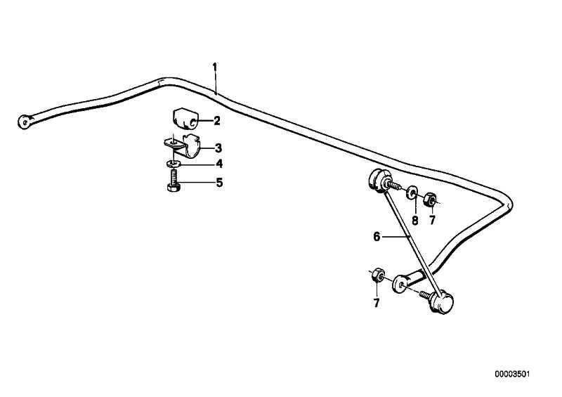 Haltebügel Stabilisator 3er 5er 6er 7er Z3 Z4 Z8