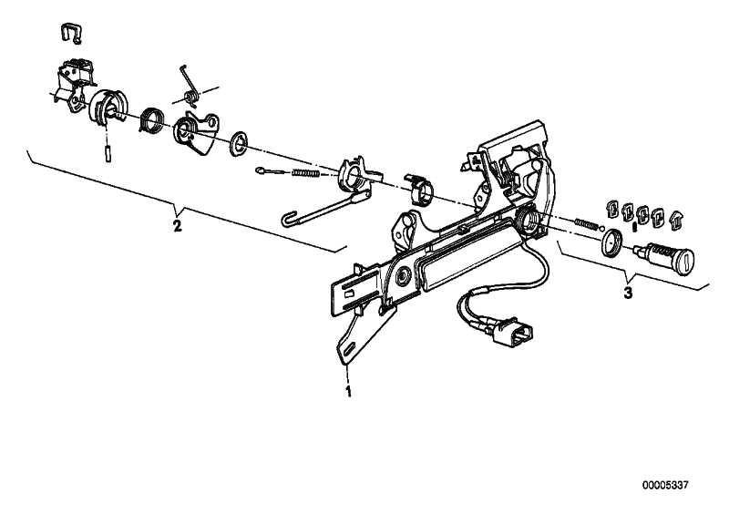 Reparatursatz Schliesszylinder Li. 3er 5er Z3 (51218203099