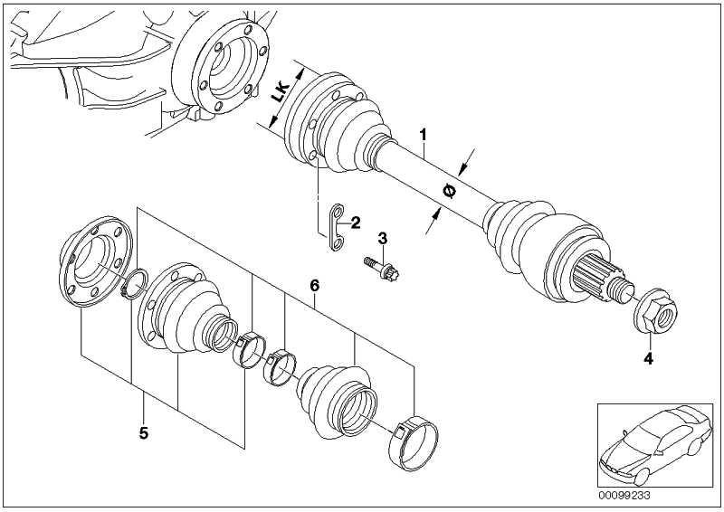 Schraube Aussentorx mit Rippverzahnung M10X46-ZNS3 3er 7er