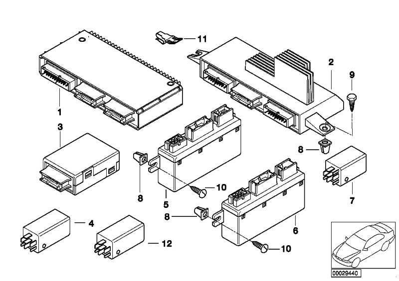 Licht/Check-Controlmodul 5er 7er X5 Z8 (61356961141
