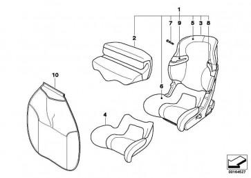BMW Junior Seat I-II SCHWARZ-ANTHRAZ 1er 3er 5er 6er 7er
