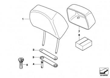 Reparatursatz Crash-aktive Kopfstütze GEN 1 3er 5er 6er