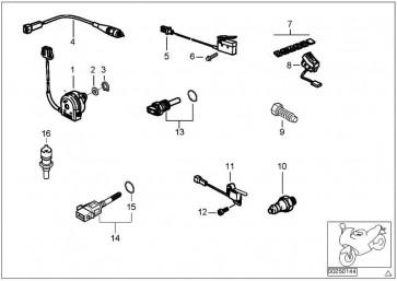 Schalter Seitenstütze R13 K47 K49 K46 K03 (61328535708
