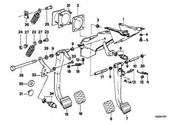 Bremslichtschalter 4-POLIG/MECH. 3er 5er 7er 8er Z3