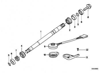 Lenkspindellager Kunststoff 3er 5er 7er 8er X5 Z3 Z8