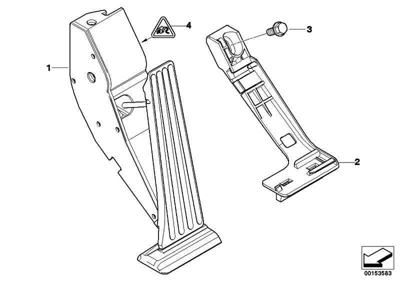Fahrpedalmodul Schaltgetriebe 3er 5er X5 Z8 (35426786282
